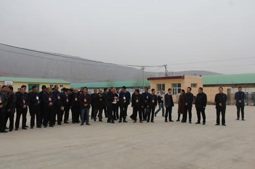 省委组织部东乡县村党支部书记能力提升培训班学员来临洮县观摩考察